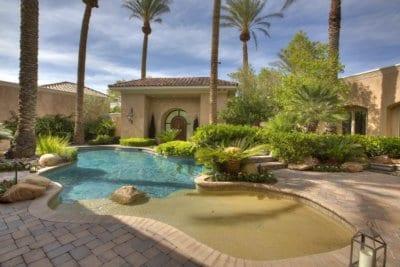 Custom Home at Eagle Hills Pool