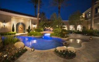 Custom Home at Eagle Hills Pool