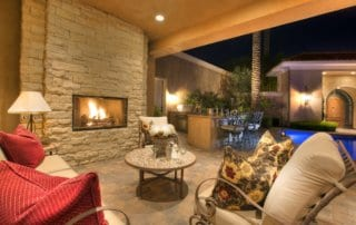 Custom Home at Eagle Hills Fireplace