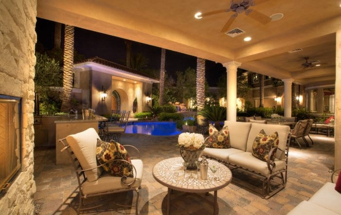 Custom Home at Eagle Hills Patio