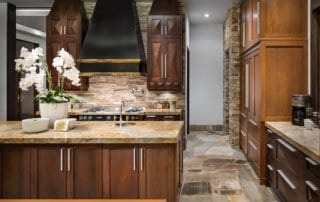 Custom Home and Pool House at The Ridges Kitchen