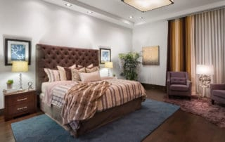 Custom Home and Pool House at The Ridges Master Bedroom