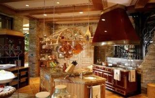 Custom Home at Tournament Hills Kitchen