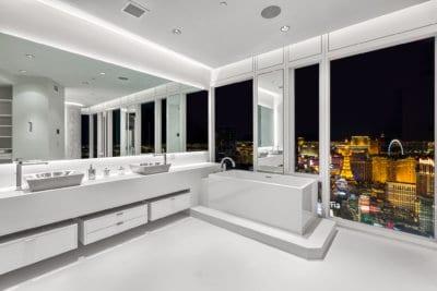Custom Remodel at the Mandarin Oriental Penthouse - Las Vegas Real Estate