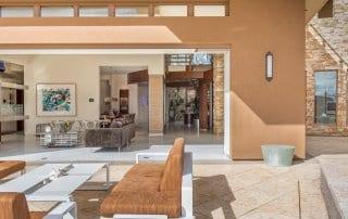 Outdoor living Las vegas custom home