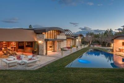 Custom Home at The Ridges Las Vegas