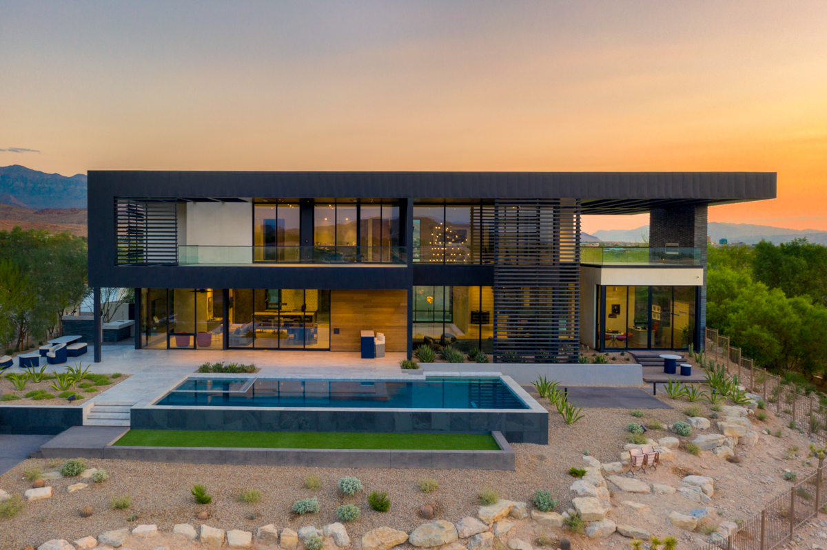 v-elements custom home at the summit - Silver Nugget Awards