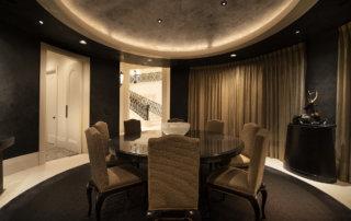 Lake Las Vegas Custom Home - Merlin Custom home Builders - Dining room