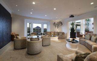 Lake Las Vegas Custom Home - Merlin Custom home Builders - Family room1