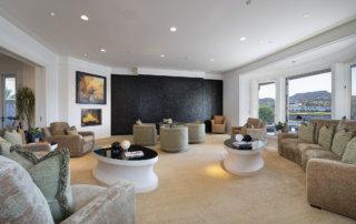 Lake Las Vegas Custom Home - Merlin Custom home Builders - Family room2