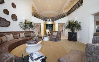 Lake Las Vegas Custom Home - Merlin Custom home Builders - Living room