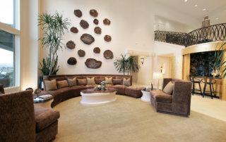 Lake Las Vegas Custom Home - Merlin Custom home Builders - Living room2