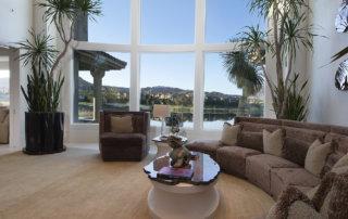 Lake Las Vegas Custom Home - Merlin Custom home Builders - Living room3
