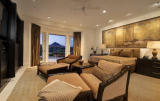 Lake Las Vegas Custom Home - Merlin Custom home Builders - Master Bedroom