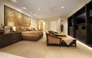 Lake Las Vegas Custom Home - Merlin Custom home Builders - Master Bedroom 2