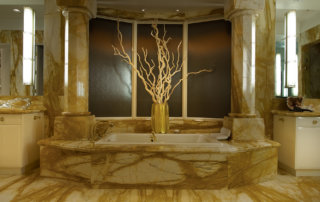 Lake Las Vegas Custom Home - Merlin Custom home Builders - Master Tub