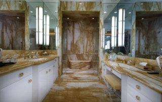 Lake Las Vegas Custom Home - Merlin Custom home Builders - Master shower