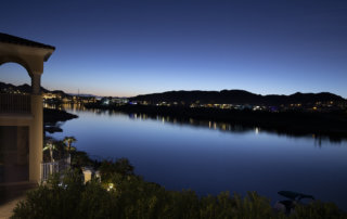 Lake Las Vegas Custom Home - Merlin Custom home Builders - nightview