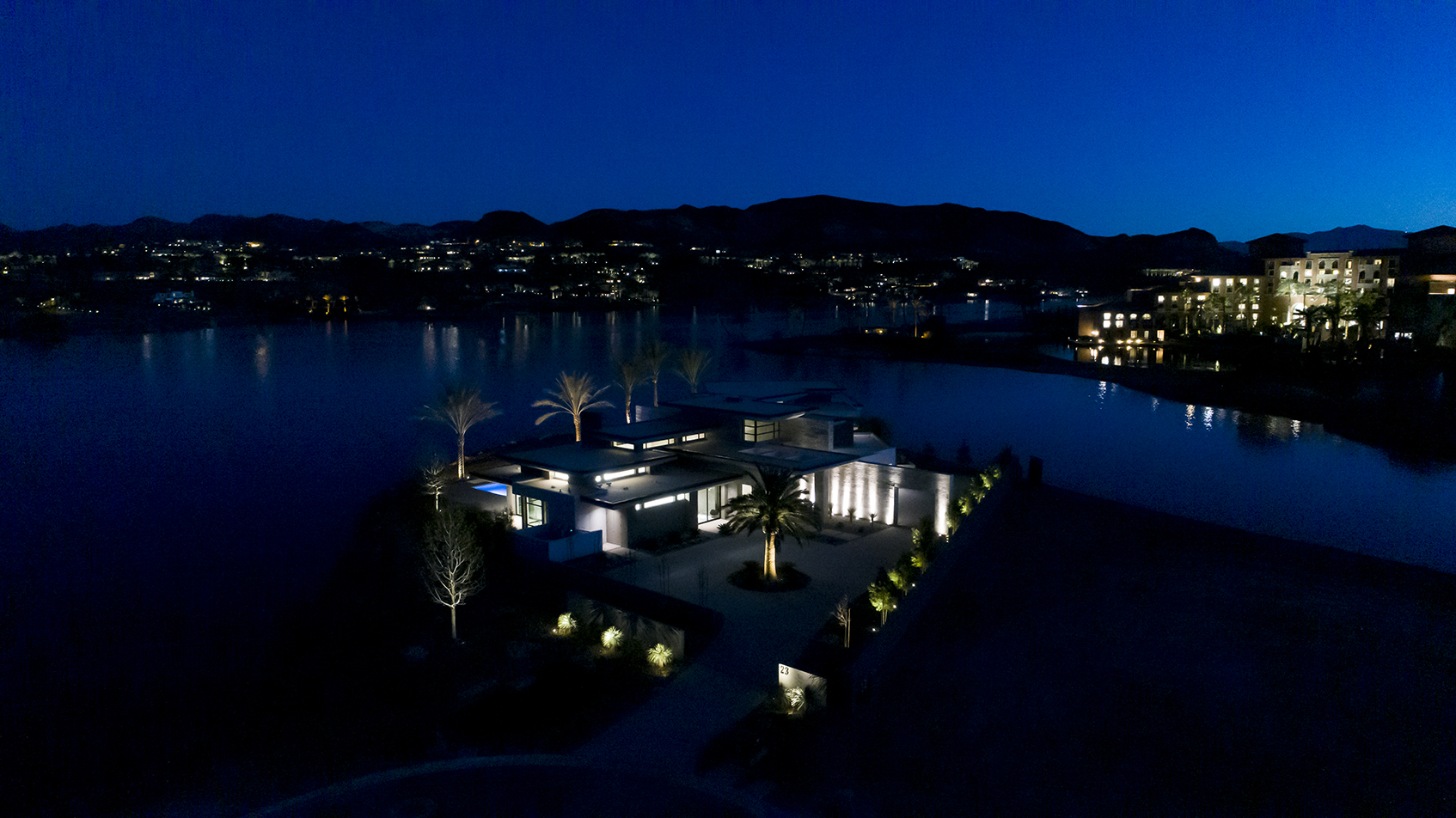 lake las vegas custom home at the estates at reflection bay