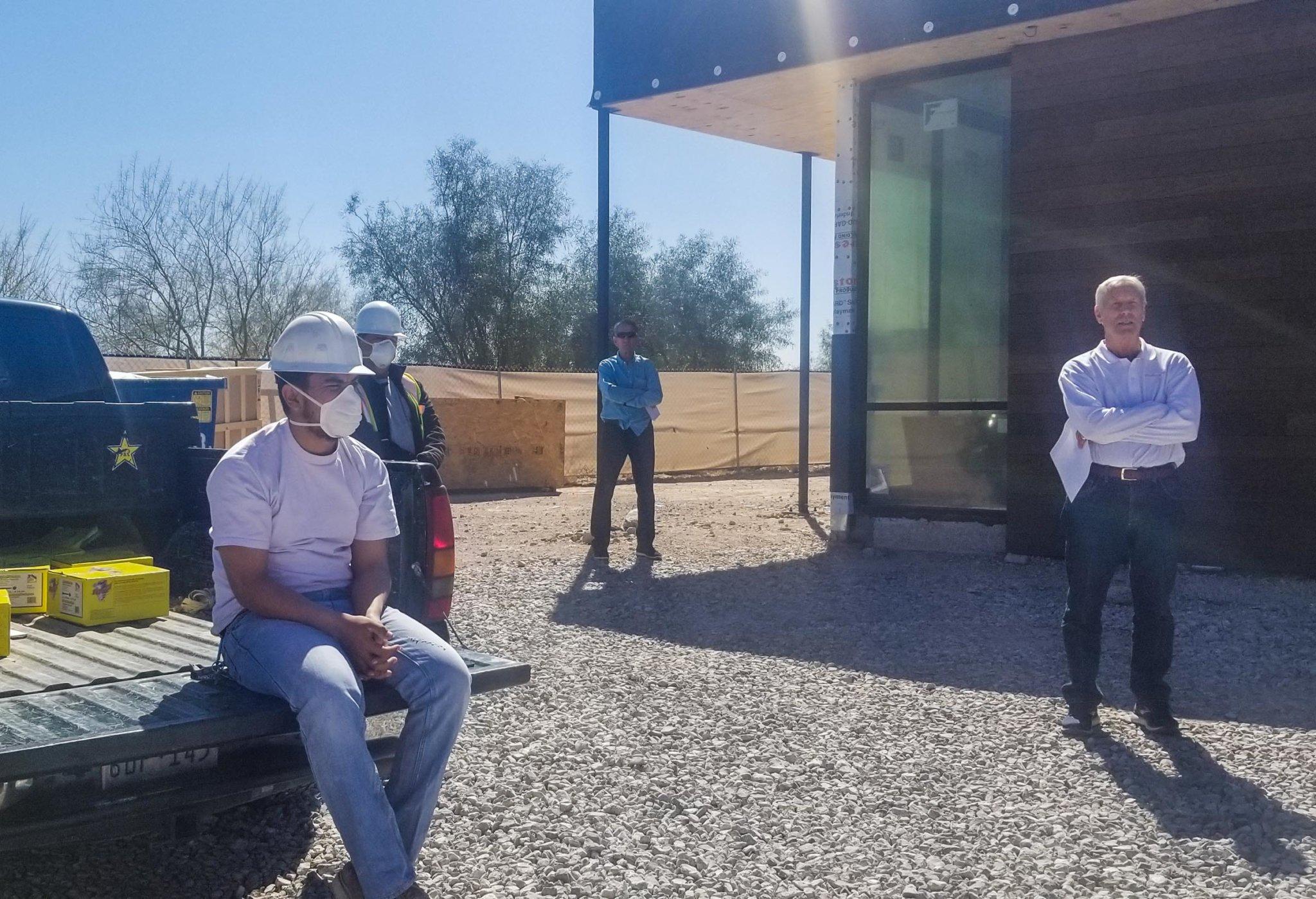 Safety on the job - Roberto Gomez - Merlin Custom Home Builders-2